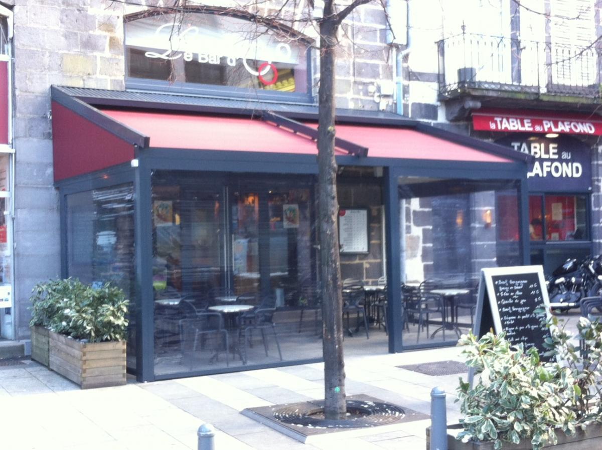 Mobilier Terrasse Restaurant Clermont