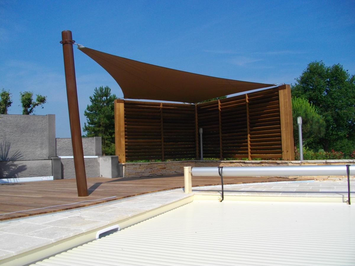Voile D Ombrage Veranda voiles d'ombrage près de clermont-ferrand (puy de dôme - 63)